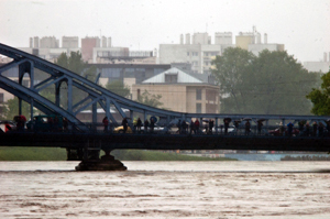 Powódź w Krakowie - kolejne zdjęcia