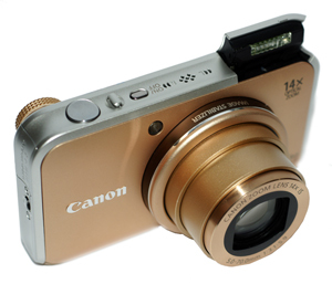 Canon PowerShot SX210 IS - test