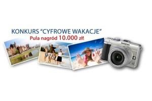 """Wakacyjny konkurs fotograficzny """"Cyfrowe wakacje"""". Łączna pula nagród - 10 tys. złotych"""