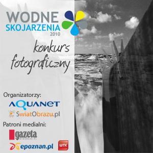 """Konkurs fotograficzny """"Wodne skojarzenia"""""""
