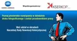 Kserkop i Konica Minolta - warsztaty w Krakowie