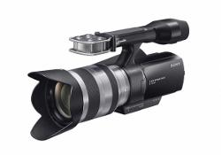 Sony Handycam NEX-VG10E - pierwsza na świecie konsumencka kamera HD z wymienną optyką