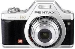 Pentax Optio I-10 w srebrnej wersji kolorystycznej