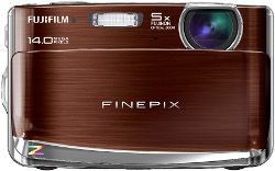 Fujifilm FinePix Z80 w smukłej, metalowej obudowie