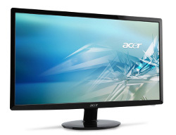 Acer S1 - cienkie monitory LED