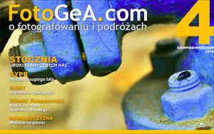 Czwarty numer miesięcznika FotoGeA.com