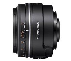 Sony 85 mm F2,8 SAM - nowy obiektyw portretowy
