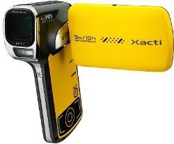 Sanyo VPC-CA102YL - wodoodporna kamera Full HD