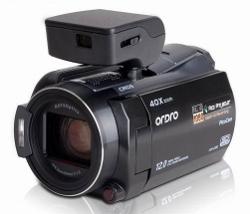 Ordro HDV-D350S - kamera i projektor w jednym