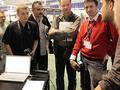 Jacek Bonecki, Marek Arcimowicz i Tomasz Pacan na warsztatach Cyfrowa Kreacja Obrazu - targi Film Video Foto 2009