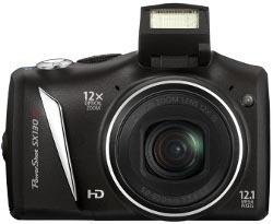 Canon PowerShot SX130 IS - kompakt z 12-krotnym zoomem