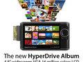 Sanho HyperDrive Album - fotobank z funkcją podglądu plików RAW
