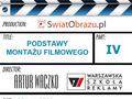 Montaż filmowy, czyli twórcze łamanie reguł