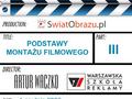 Montaż filmowy, czyli robienie filmu od końca... odc.3