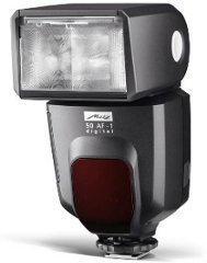 Metz Mecablitz 50 AF-1 digital - następca lampy nagrodzonej przez TIPA