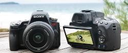 Sony SLT-A55 i SLT-A33 - cyfrówki z półprzezroczystym lustrem i szybkim trybem zdjęć seryjnych