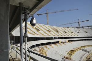 Obejrzyj postępy w budowie Stadionu Narodowego na żywo dzięki kamerze IP Panasonic