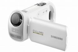 Kamera Samsung HMX-T10 z nachylonym obiektywem