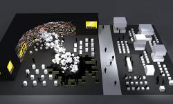 Nikon na targach Photokina 2010 - wizualizacja stoiska