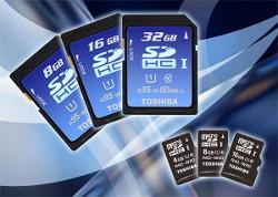 Toshiba prezentuje najszybsze karty SDHC