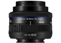 Samsung NX 20-50 mm f/3.5-5.6 ED - kompaktowy zoom