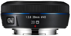 """Samsung NX 20 mm f/2.8 - nowa """"stałka"""" dla NX-ów"""