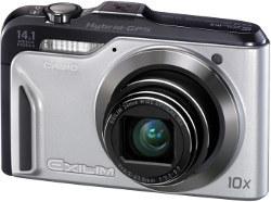 Casio Exilim EX-H20G z hybrydowym GPS-em