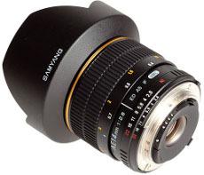 Samyang AE 14 mm f/2.8 ED AS IF UMC z elektroniką dla lustrzanek marki Nikon