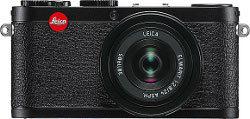 Leica X1 w czarnej wersji kolorystycznej
