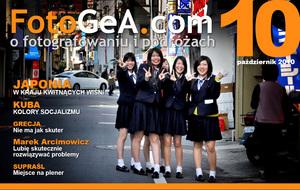 FotoGeA.com - październikowy numer miesięcznika już do pobrania