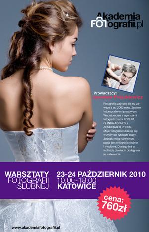 Akademia Fotografii - Warsztaty Fotografii Ślubnej