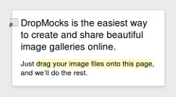 DropMocks - przyjazny hosting zdjęć z wykorzystaniem HTML 5