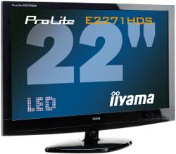 iiyama ProLite E2271HDS - 22 cale z podświetleniem LED