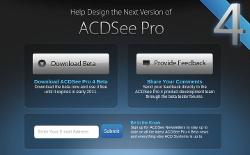 ACDSee Pro 4 w wersji beta do 2011 roku