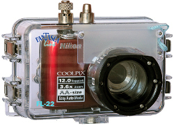 Fantasea FL-22 - obudowa podwodna dla aparatu Nikon Coolpix L22
