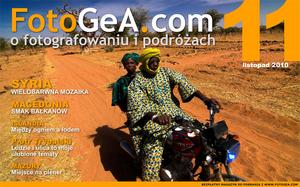 Listopadowy numer miesięcznika FotoGeA.com