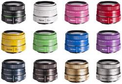 smc Pentax-DA 35 mm f/2.4 AL w dwunastu kolorach
