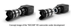 Sony - profesjonalna kamera z mocowaniem E w produkcji