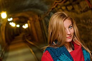 W kierunku lepszych zdjęć - trudne warunki oświetleniowe - relacja z warsztatów praktycznych w Kopalni Soli w Bochni