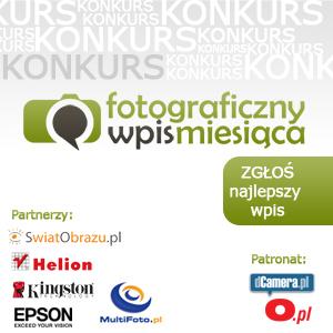 Konkurs Fotograficzny Wpis Miesiąca - trwa III edycja