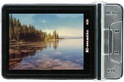 Ematic E5, czyli odtwarzacz MP4 i aparat cyfrowy w jednym