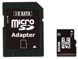 I-O Data microSDHC 16 GB z drugą klasą prędkości