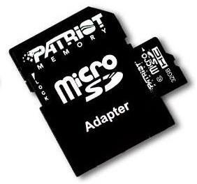 Patriot microSDHC LX 16GB i 32GB