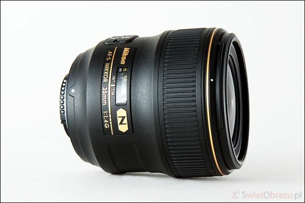 AF-S NIKKOR 35mm f/1.4G test obiektyw
