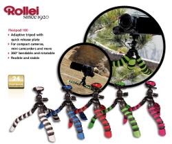 Rollei Flexipod 100 - konkurencja dla Gorillapod?