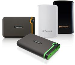 Transcend dodaje dysk 750 GB do serii StoreJet
