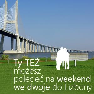 Poleć artykuł i poleć na weekend do Lizbony - gratulujemy Zwycięzcy III edycji tygodniowej
