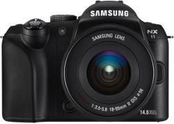 Samsung NX11 i NX 18-55 mm f/3.5-5.6 OIS II z i-Function