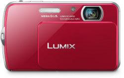 Panasonic Lumix DMC-FP5 i DMC-FP7 z minimalistycznym designem