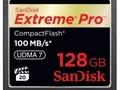 SanDisk Extreme Pro CompactFlash - 128 GB i prędkość do 100 MB/s